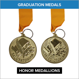 Graduation Medals
