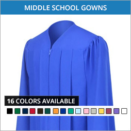 Middle School Gowns