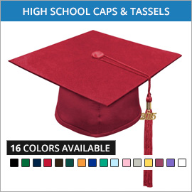 High School Caps & Tassels