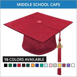Middle School Caps & Tassels