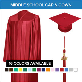 Middle School Cap & Gown