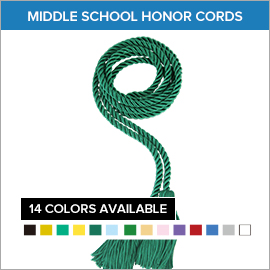 Middle School Honor Cords