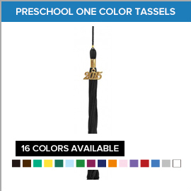 Preschool One Color Tassels | Gradshop