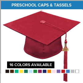 Preschool Caps & Tassels