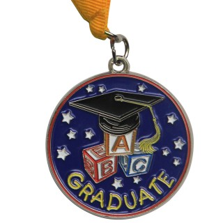 Preschool Graduation Medal