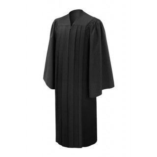 Deluxe Black Bachelor Academic Gown