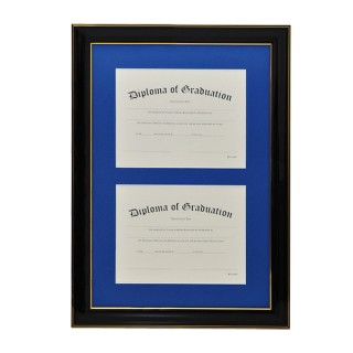 Double Document Diploma Frame