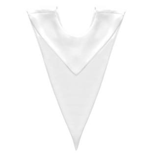 White V Stole