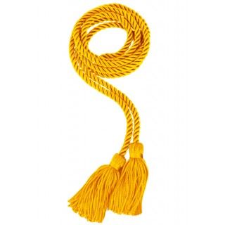 Gold College Honor Cord