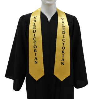 Gold College Valedictorian Stole