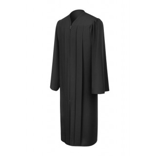 Matte Black Elementary Gown