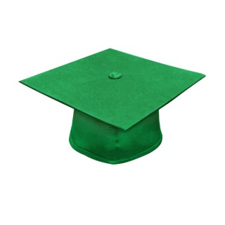 Eco-Friendly Green Bachelor Academic Cap