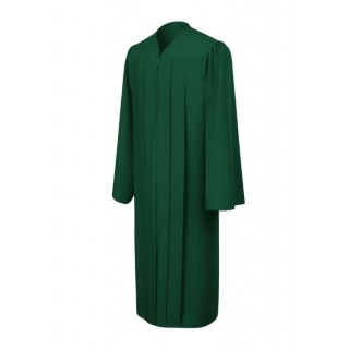 Matte Hunter Bachelor Academic Gown