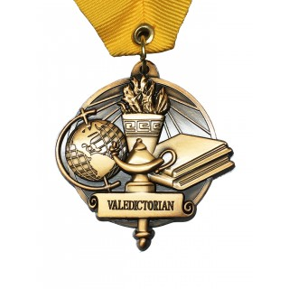 Valedictorian High School Medal