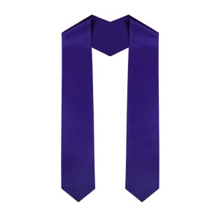 Purple Middle School Stole