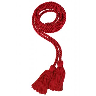 Red Middle School Honor Cord