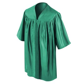 Emerald Green Preschool Gown