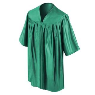 Emerald Green Kindergarten Gown