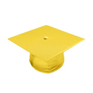 Shiny Gold Bachelor Academic Cap