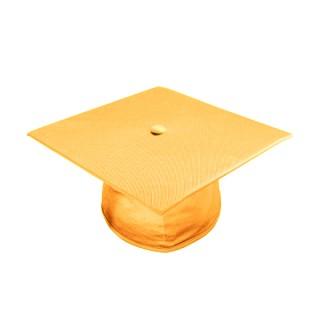 Shiny Antique Gold Middle School Cap