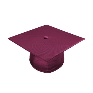 Shiny Maroon High School  Cap