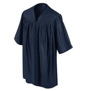 Navy Blue Preschool Gown