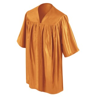 Orange Preschool Gown