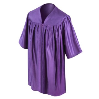 Purple Kindergarten Gown