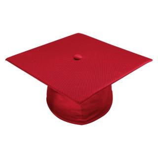 Shiny Red Elementary Cap