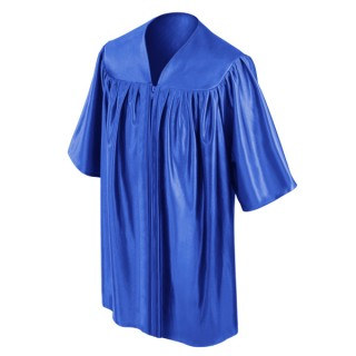 Royal Blue Kindergarten Gown