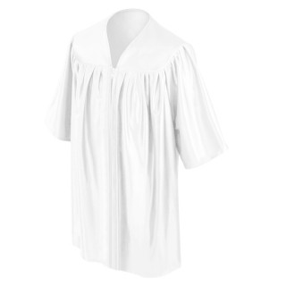 White Kindergarten Gown