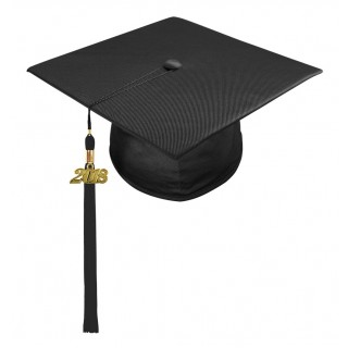 Black Preschool Cap & Tassel