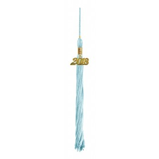 Light Blue College Tassel