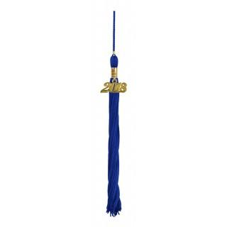 Royal Blue High School Tassel
