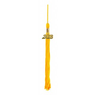 Gold Middle School Tassel