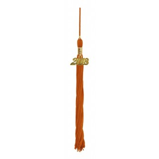Orange College Tassel