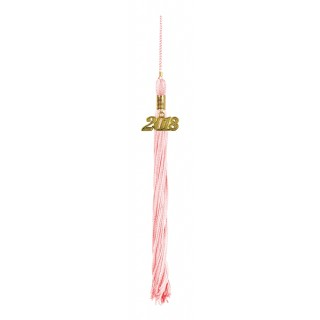 Pink Middle School Tassel