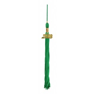 Green Academic Tassel