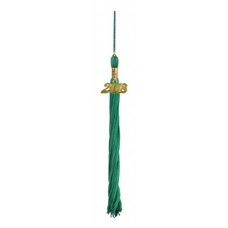 Emerald Green Preschool Tassel