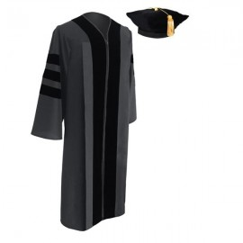 Classic Doctoral Academic Tam & Gown Package