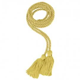 Antique Gold Middle School Honor Cord