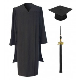 Classic Master's Cap, Gown & Tassel Package