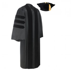 Deluxe Doctoral Academic Tam & Gown Package