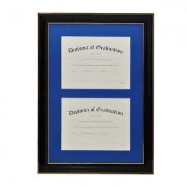 University Double Document Diploma Frame
