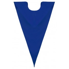 Royal Blue College V Stole