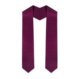 Maroon College Stole