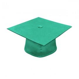 Matte Emerald Green Elementary Cap