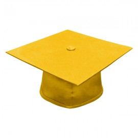 Matte Gold High School Cap