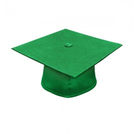 Matte Green Bachelor Academic Cap