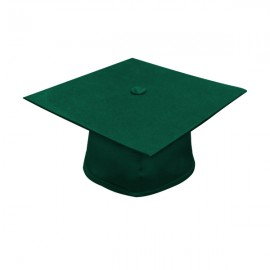 Matte Hunter Bachelor Cap